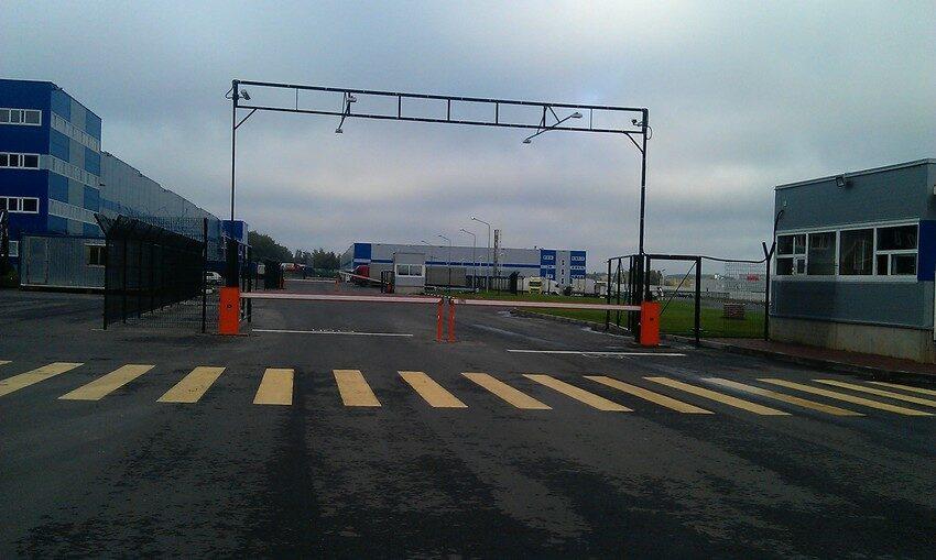 Контроль перемещения на КПП