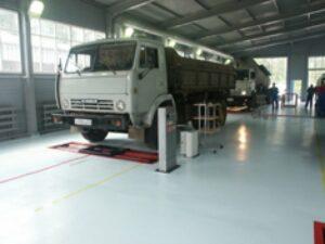 Контроль автотранспорта в ремонтных зонах