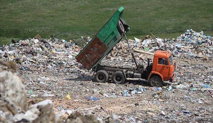 полигон мусора